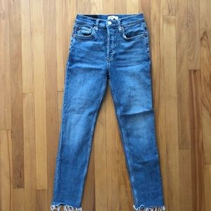 Re/done comfort stretch high rise jeans
